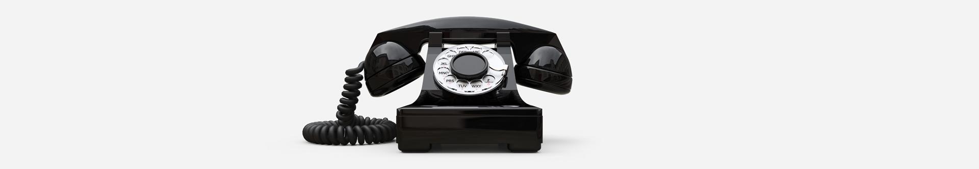 Starožitný telefón
